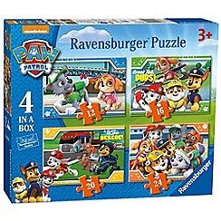 Ravensburger - 'Paw Patrol' 4 in a box jigsaw puzzles