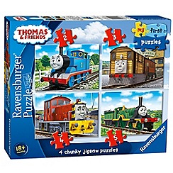 Ravensburger - 'My First Puzzle - Thomas and Friends' 4 chunky jigsaw puzzles