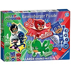 Ravensburger - 'PJ Masks' 4 large shaped jigsaw puzzles