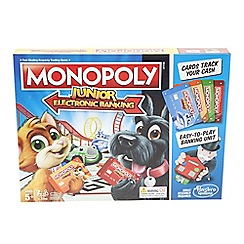 Hasbro Games - 'Monopoly Junior Electronic Banking' property trading game