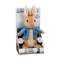 Beatrix Potter - Talking Peter Rabbit plush toy