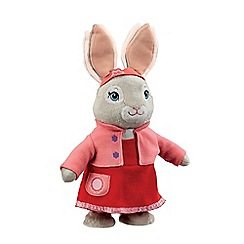 Beatrix Potter - Talking and hopping 40cm Lily Bobtail plush toy
