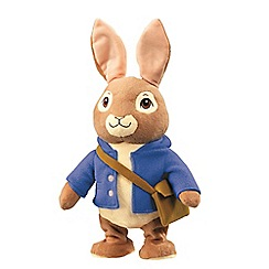 Beatrix Potter - Talking and hopping 40cm Peter Rabbit plush toy