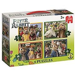 Beatrix Potter - 'Peter Rabbit' 4-in-1 jigsaw puzzle set