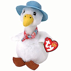 Ty - 'Jemima Puddle-Duck - Beanie Babies' soft toy