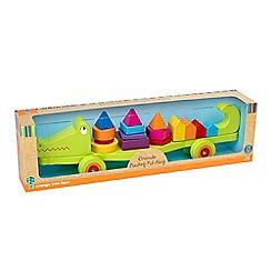 Orange Tree - Crocodile stacking pull along puzzle