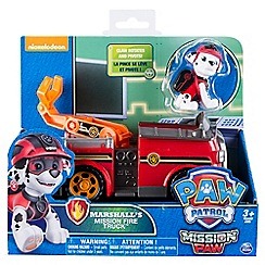 Paw Patrol - 'Mission Paw - Marshall's Mission Fire Truck™' playset