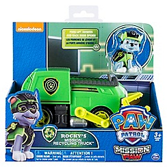 Paw Patrol - 'Mission Paw - Rocky's Mission Recycling Truck™' playset