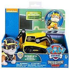 Paw Patrol - 'Mission Paw - Rubble's Mission Bulldozer™' playset