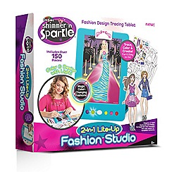 Cra-Z-Art - 'Shimmer and Sparkle 2-in-1 Light up Fashion Studio' playset