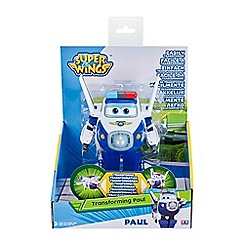 Super Wings - 'Paul' transforming toy