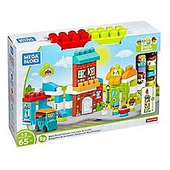 Mega Bloks - 65 piece 'Block Buddies™' main street friends block playset