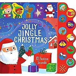 Parragon - 'Jolly Jingle Christmas' 10 button sound book