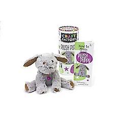 Parragon - 'Plush Puppy' craft tube