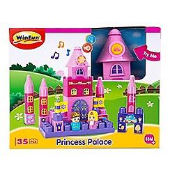 Winfun - 'Princess Palace' building blocks