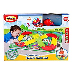 Winfun - 'Go Go Drivers' flyover track set