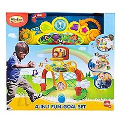 Winfun - 4-in-1 fun goal set