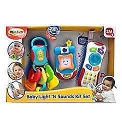 Winfun - 'Baby Light 'N Sound' gadget set