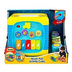 Winfun - 'Music Fun' activity cube