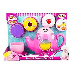 Winfun - 'Fun 'N Sweets' tea set