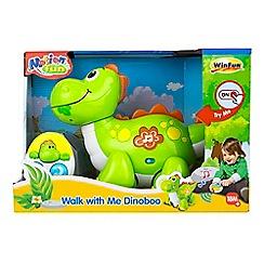 Winfun - 'Walk with Me Dinoboo' remote control dinosaur set