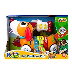 Winfun - Remote control rainbow pup set