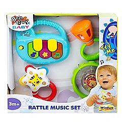 Winfun - Baby rattle music set