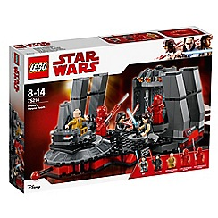 LEGO - Star Wars™ - Snoke's Throne Room' set - 75216