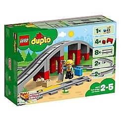LEGO - Duplo train bridge and tracks playset - 10872