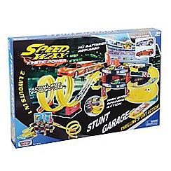 Motormax - Speedway Stunt Garage Playset