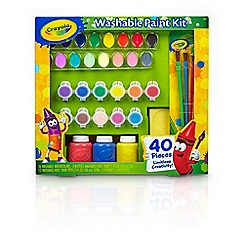 Crayola - Washable paint set
