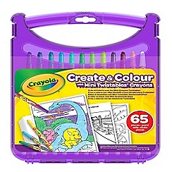 Crayola - 'Create and Colour' mini twistables crayons set