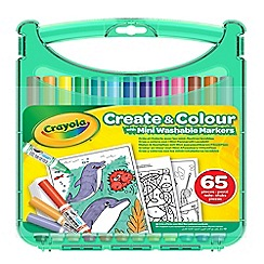 Crayola - 'Create and Colour' mini washable markers set