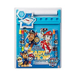 Paw Patrol - Jumbo Roll and Go Art Desk Set