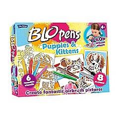 John Adams - Puppies and kittens BLO pens set