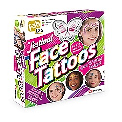 Interplay - Festival face tattoos set