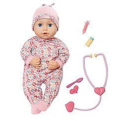 Baby Annabell - Milly feels better doll