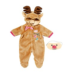 Baby Annabell - Deluxe Reindeer Oneside and Mask Set