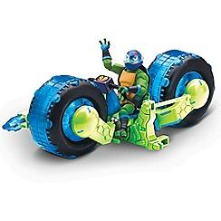 Teenage Mutant Ninja Turtles - Shell Hog with Leo Playset