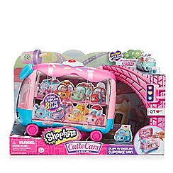 Cutie Cars - Play and Display Shopkins Cupcake Van
