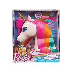 Barbie - 'Dreamtopia' unicorn styling head