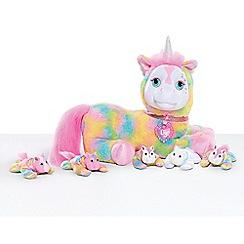 Puppy Surprise - Crystal Rainbow Unicorn Plush Toy Set