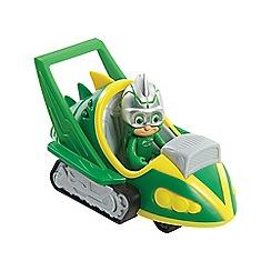 PJ Masks - Gekko Figure and Speed Booster Vehicle Set