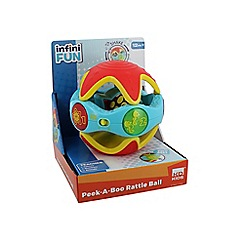 KD UK - Peek-a-Boo Rattle Ball