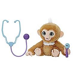 FurReal - 'Check-up Zandi' plush monkey