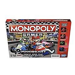 Hasbro Gaming - 'Monopoly Gamer - Mario Kart' board game