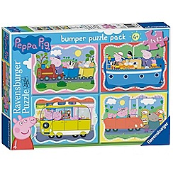 Peppa Pig - 'Peppa Pig' set of 4 bumper pack jigsaw puzzle