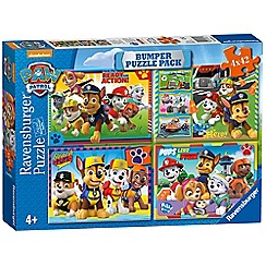 Paw Patrol - 'Paw Patrol' set of 4 bumper pack jigsaw puzzle