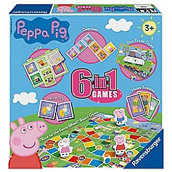 Peppa Pig - 'Peppa Pig' 6 in 1 games