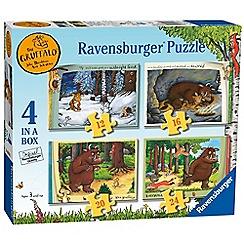 The Gruffalo - 'The Gruffalo' set of 4 in box jigsaw puzzles